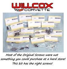 68-76 CORVETTE INTERIOR SCREW SET INTERIOR SCREW KIT New.