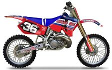 Lucas Oil TLD AMA HONDA Graphics KIT CR 125 1995 - 1997 250 95 - 1996 Motocross