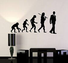 Vinyl Wall Decal Evolution Office Worker Art Decoration Stickers (ig4389)