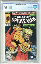 THE AMAZING SPIDER-MAN #324 (NOV 1989, MARVEL) CBCS 9.8  SABRETOOTH  NOT CGC
