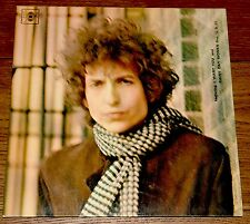 BOB DYLAN BLONDE ON BLONDE ~UK CBS 1ST PRESS LP 1962 A1/B1/C1/D1 ROUGH 33 LABELS
