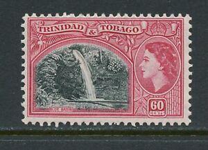 A616  Trinidad & Tobago  1953  QEII  waterfalls  60c.    1v.  MLH