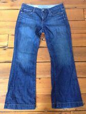 """Gap Long & Lean 30/10a 1969 Medium Tint Straight Leg womens Jeans 35"""" Waist"""