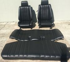 BMW e30 325/318 NEW Re-Upholstered Leather Seats Set For IS & I (1982-91) $2700.