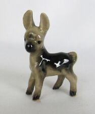 Vintage Hagen Renaker Miniature Baby Donkey Mule #A-021 Figurine