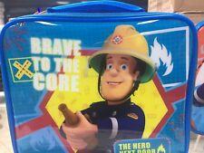 Fireman Sam kids lunch bag the hero next door