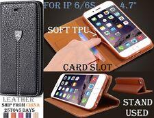 "GENUINE FLOVEME Case PU Leather Flip Cover iphone 6 6S 4.7"" Registred NEW Brand"
