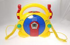 FANTASTIKO Music Kids LETTORE PORTATILE CD per Bambini con 2 Microfoni CD6003