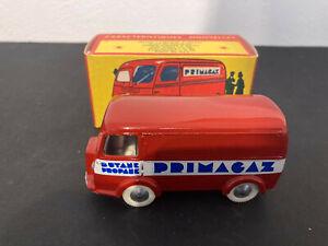 """Quiralu Peugeot D4A """" Primagaz """" derniere édition de 1993 en TBE + boite carton"""