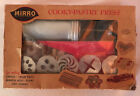 Vintage Mirro Cooky and Pastry Press Model 358 AM Complete 12 Disks and 3 Tips
