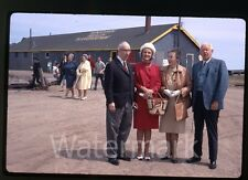 1967 kodachrome photo slide  Mayor Munro North Sydney Nova Scotia Canada #2