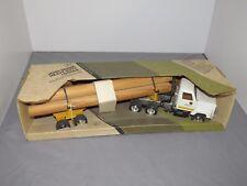 John Deere Pulpwood Sawlog Log Hauler Semi IH Truck w/Lettering 1/25 Ertl 3180