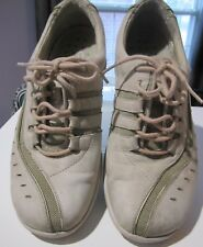 Womens Clarks Wave Gray Suede Leather Lace Up Shoes Walking Comfort Size 7M