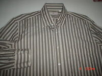 LUCIANO BARBERA  MADE IN ITALY MEN'S SHIRT SZ.L