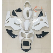 Unpainted Fairings Kit Bodywork ABS for KAWASAKI NINJA ZX 12R 2000 2001 White