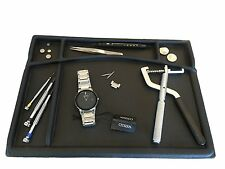 Durable Rubber Watch repair Jeweler BENCH TOP Work Mat Board tool organizer gift