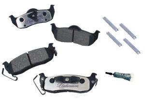 Disc Brake Pad Set-Ceramic Pad Kit with hardware Rear Autopartsource VP1041K