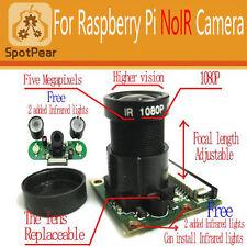 Raspberry Pi Camera Night Vision+Adjustable focus,with free 2 IR lights board