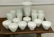 Vintage Milk Glass Ensemble