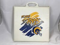 Vintage St. Louis STL or Los Angeles LA Rams NFL Football Seat Cushion 90s