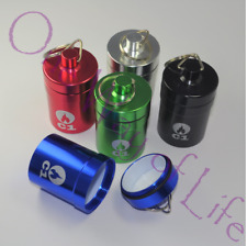 More details for cheeky one smokers club odourless stash pots, metal, air tight, large, small