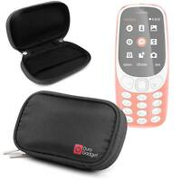 Black Memory Foam Protective Case for the Nokia 3310 (2017)