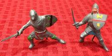 Vintage Lead / Pewter Miniature Knights Figures Toys