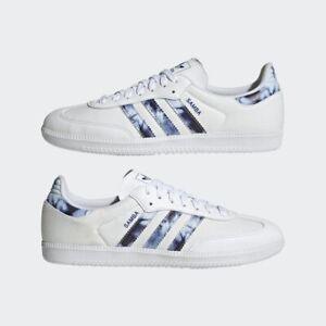 Adidas Samba OG Sneakers Shoes Cloud White / Royal Blue Unisex Brand New