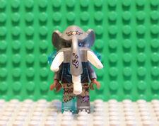 LEGO NEW Maula Minifigure Chima Gray Female Ice Mammoth Undead Zombie