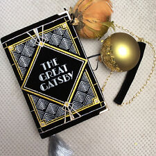 Olympia Le Tan inspired hand made book clutch The Great Gatsby
