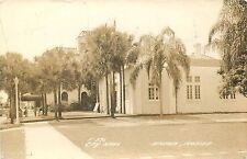 APOPKA, FLORIDA - CITY HALL - OLD REAL PHOTO POSTCARD VIEW