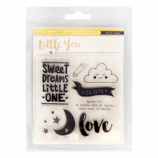 Crate Paper Little You Clear Acrylic Stamps