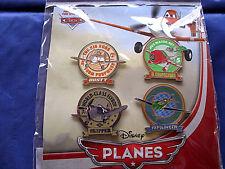 Disney * PLANES - DUSTY, SKIPPER, RIPSLINGER, EL CHUPACABRA * 4 pin BOOSTER Set