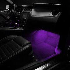 2 ampoules à LED Violet éclairage sol /pieds pour Renault Talisman Modus Clio
