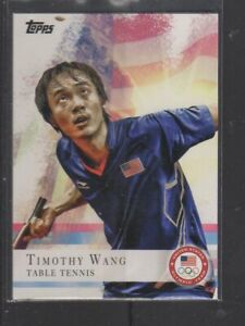 TIMOTHY WANG - 2012 OLYMPICS TABLE TENNIS - TOPPS #8