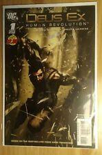 Deus Ex Human Revolution #1 & #2 DC Comics (2011) Video Game Adaptation 9.6+ NM