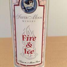 4 ICE WINE BOTTLES MON AMI/SILVER MOON/FIRELANDS/TOMASELLO 375ML EMPTY NO CORKS