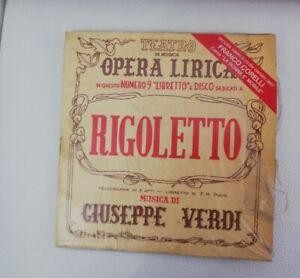 FRANCO CORELLI - OPERA LIRICA - RIGOLETTO