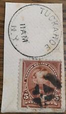 US STAMP 1894 SCOTT 255 CANCEL TUCKAHOE (NY) ULYSSES S. GRANT