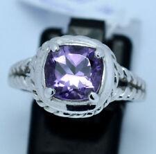 Anelli di lusso con gemme ametista Misura anello 14
