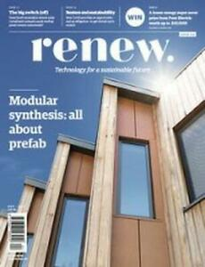 Renew Technology For Sustainable Modular Prefab Oct/Dec 2020 Issue 153 Magazine