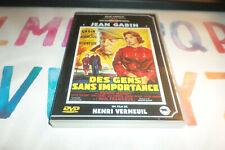 DVD  - DES GENS SANS IMPORTANCE / JEAN GABIN / DVD RENE CHATEAU