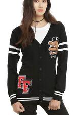 Five Nights At Freddy's Sweater Fazbear Cardigan Cosplay Size 2X