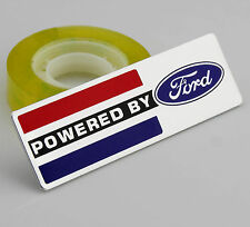 Auto Car Alu Badge Emblem Decal Stickers For POWERED BY Racing Sports POWER new