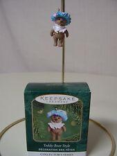 Hallmark Ornament 2000 TEDDY-BEAR STYLE NEW Miniature Teddy Bear Style Series #4