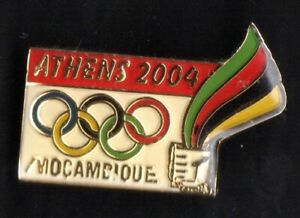 ATHENS 2004 OLYMPIC GAMES. NOC. MOZAMBIQUE