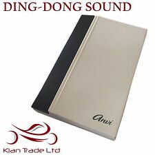 220V ELECTRONIC WIRED VOCAL DOORBELL - DING DONG SOUND DOOR BELL
