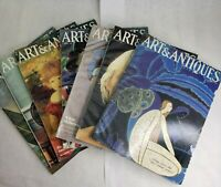 Arts and Antiques Magazine for Collectors Lot of 7 Back Issues 1985 - 1986 VTG