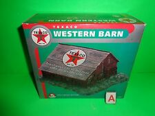 TEXACO ERTL WESTERN BARN #5 SERVICE STATION SERIES 1999 PORCELAIN NOT Dept. 56 A