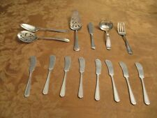 14 VINTAGE SILVERPLATED SERVING PIECES MINT CONDITION CIRCA 1940'S CHEAP